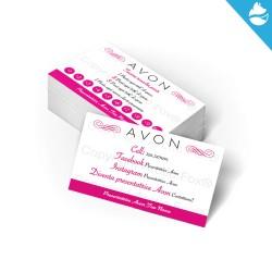 Biglietti da visita Avon